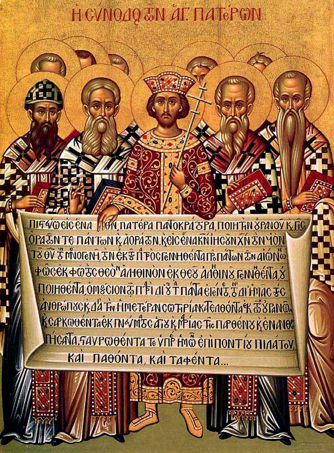 council of  Nicaea emperor Constantine