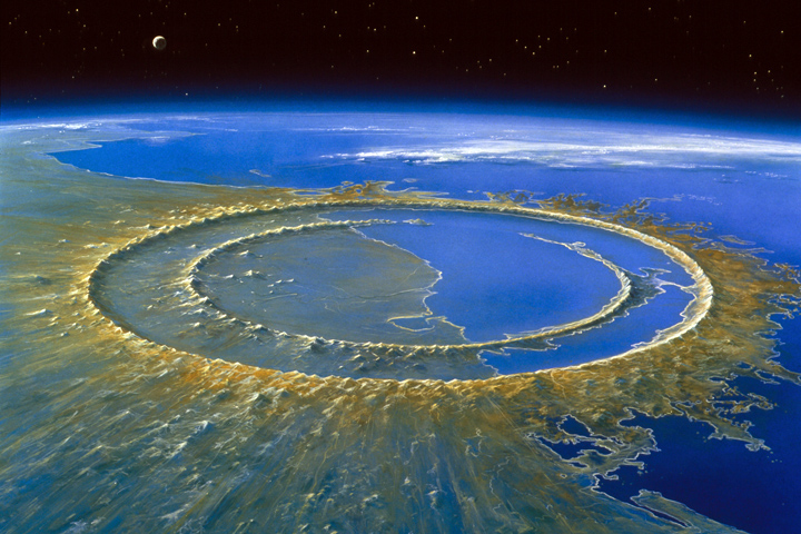 Chicxulub largest known crater