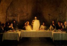 last supper realistic