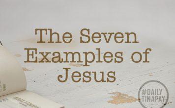 Jesus examples