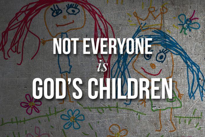 not Gods child